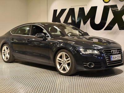käytetty Audi A7 3,0 V6 TDI quattro S tronic Start-Stop / Juuri katsastettu / Juuri huollettu / Merkkihuoltokirja /