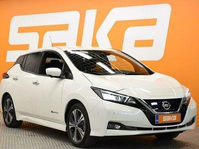 käytetty Nissan Leaf Tekna 40 kWh FI ** Steering Assist / Bose / Navi / 360° / Adapt. Vakkari **