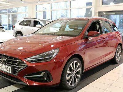 käytetty Hyundai i30 Wagon 1,5 T-GDI 159 hv 48V hybrid 7-DCT-aut Style. Mukautuva vak.nop.säädin