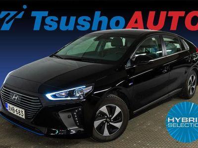 käytetty Hyundai Ioniq hybrid DCT Style Nahka sisustalla!