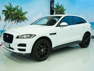 """käytetty Jaguar F-Pace 20d AWD Aut Pure Business // Näyttävä yksilö // - """"Hullut avajaistarjoukset!"""""""