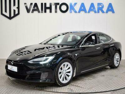 käytetty Tesla Model S 75 Kwh Facelift # Autopilot, Next Generation istuimet, Adapt.Vakkari, Tuplarenkaat, Avaimeton käyttö