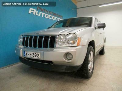 käytetty Jeep Grand Cherokee 3.0 CRD 218hv Aut. 4WD Limited