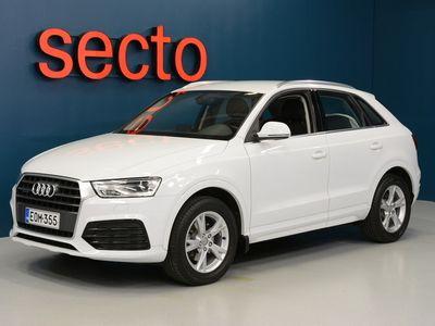 käytetty Audi Q3 Land of Quattro Edition 2,0 TDI cleanD 110 A, Urheiluistuimet, Kaukovaloavustin, Drive Select - *Tähän autoon ko...