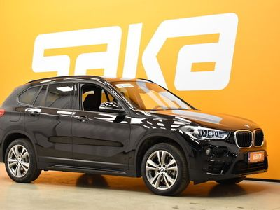 käytetty BMW X1 F48 xDrive20i A Edition SportLine ** Navigointi / Hud / AmbientLight / Led-valot / Sport-istuimet / Sähköluukku