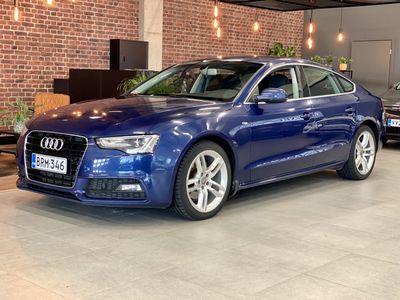 käytetty Audi A5 Sportback *Rahoituskorko 0,99%* 1,8 TFSI multitronic-aut. SLINE *Vaihto / Rahoitus*