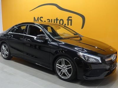 käytetty Mercedes CLA200 7G-DCT 156hv #JUURI TULLUT #AMG-paketti #Rattivaihteet #Sport-penkit