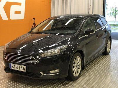 käytetty Ford Focus 1,5 EcoBoost 150 hv Start/Stop M6 Titanium Wagon ** Pa. lisälämmitin / Navi / Sony-Äänentoisto / Vet