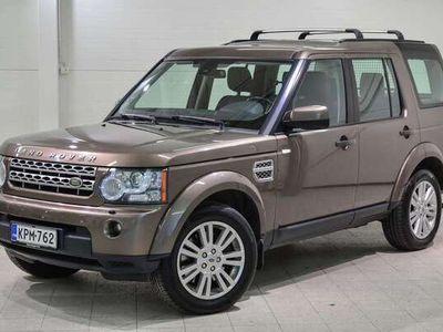 käytetty Land Rover Discovery 4 3,0 TDV6 HSE Aut - Kattavat varusteet mm. Harman Kardon, sähköpenkit muistilla, Ilmajousitus! Juur