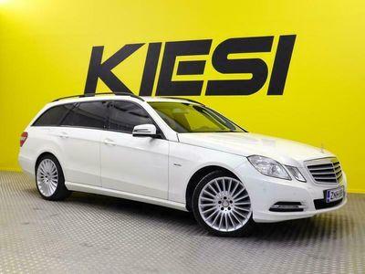 käytetty Mercedes E300 CDI BE T A / KORKOKAMPANJA 0.49%!! / Sähkökoukku / Navi / Tutkat eteen ja taakse
