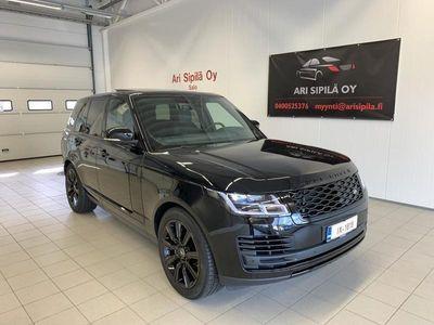 käytetty Land Rover Range Rover Range Rover HETI VARASTOSTAP400E PLUG-IN Hybrid BLACK PAKET WEBASTO PANORAMA HEAD-UP JÄÄKAAPPI I