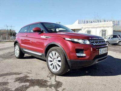 käytetty Land Rover Range Rover evoque Coupé 2,0 Si4 Aut. Supervarusteet, Panoraama, Navigointi, Premium nahkasisusta, Muistipenkit, Sähkötakaluukku