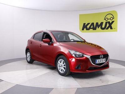 käytetty Mazda 2 5HB 1,5 (90) SKYACTIV-G Optimum 6AT AM2O / Vaihtoehto uudelle / Takuu / 1 om. Suomi-auto / Kaistavahti / Peruutuskamera
