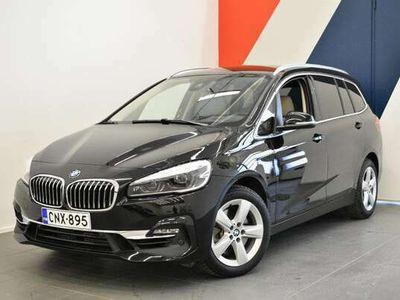 käytetty BMW 220 Gran Tourer F46 220i A Business Luxury**Nahat, urh.istuin, Navigointi, hud, Huolenpitosopimus 3v/60*