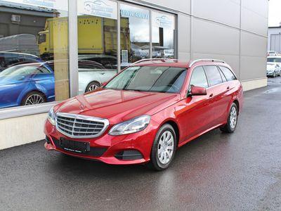 käytetty Mercedes E200 CDI T A BlueEfficiency *JUURI HUOLLETTU*