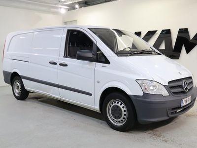 käytetty Mercedes Vito / Ilmastointi / Polttoainetoiminen lisälämmitin kellolla / SUOMI-auto / 110CDI -3,05/34K pitkä A3