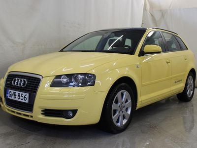 käytetty Audi A3 Sportback Panorama 2,0 TDI quattro NAVI *KORKO 0,69% alk! KAARA KESÄX KAMPPIX!!* YKSINÄINEN TIPU!*