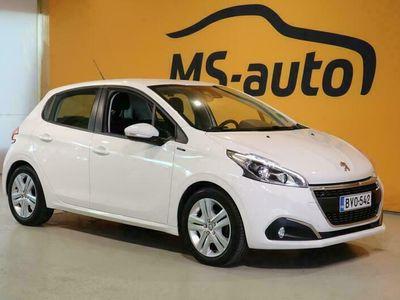 käytetty Peugeot 208 Signature PureTech 110 EAT6-automaatti 5-ov #Vähän ajettu #Bluetooth #Vakkari