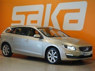 käytetty Volvo V60 D4 Business Classic Summum aut ** 1-om. Merkkihuollettu Suomiauto / Webasto / Navi / Nahat **