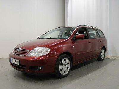 käytetty Toyota Corolla 1,6 VVT-i Linea Sol Wagon - 1-omistajalta, Viimeinen huolto 04/21, Vakkari, Ilmastointi
