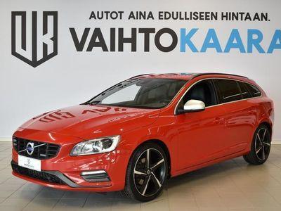 käytetty Volvo V60 D4 181 Hv Geartronic Momentum R-Design # SPORTTINEN JA HYVIN VARUSTELTU SUOSITTU FARMARI #