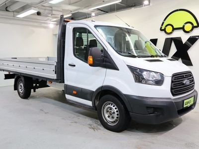 käytetty Ford Transit / Alv / Alumiinilava / Ilmastointi / 350 2.0 tdci avolava L4