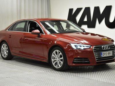 käytetty Audi A4 2,0 TDI 140 kW quattro S tronic / Sis. ALV / Suomi-auto 1. omistajalta / Polttoainelämmitin / LED-valot /