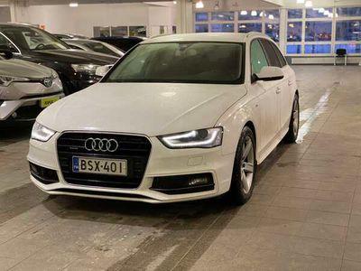 käytetty Audi A4 Avant 2,0 TDI 140 kW quattro S tronic / S-Line / Flatbottom /