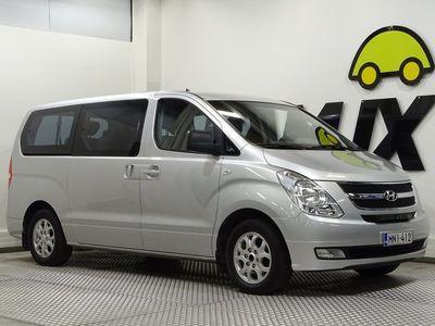 käytetty Hyundai H-1 2,5 CRDi VGT 125kW GLS Wagon / Juuri Huollettu Suomi-auto / Webasto kellolla / Istuimet 8:lle