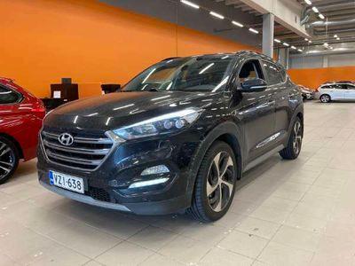 käytetty Hyundai Tucson 4WD 1,6 T-GDI 7DCT-aut. Premium Business ** Suomiauto / Navi / Kaistavahti / Kamera / Tutkat **