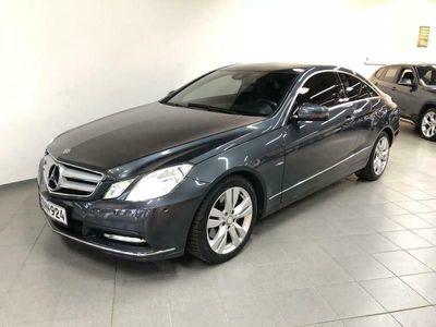 käytetty Mercedes E250 CDI BlueEfficiency Coupe AUT PDCILSCOMAND APSYMS APS