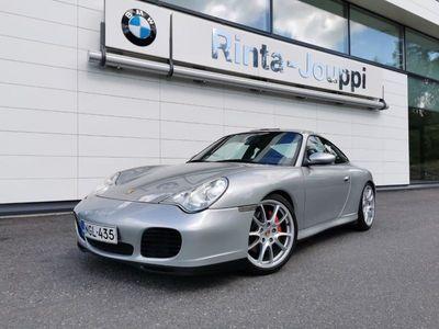 käytetty Porsche 911 Carrera 4S Coupe - Huippuvarusteltu 911! Neliveto ja manuaali! 320 hv