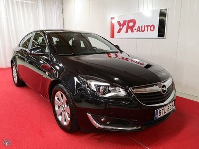 käytetty Opel Insignia 5-ov Edition 1,6CDTI 100kW Autom. NAVI! WEBASTO! SPORTTIPENKIT!