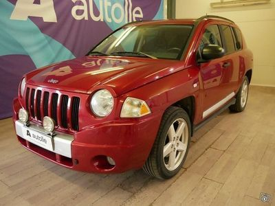käytetty Jeep Compass *SIISTI* 2.4 Limited 5d A 4wd Rahoituksella, Tarkastettuna, Kotiintoimitettuna!