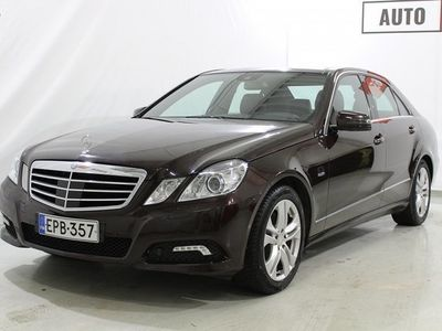 käytetty Mercedes E350 CDI 4MATIC