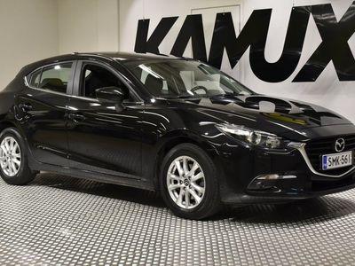 käytetty Mazda 3 5HB 1,5 (105) SKYACTIV-D Premium 6MT 5ov BZ1 / 1-Omistaja / Suomiauto / Tehdastakuu /