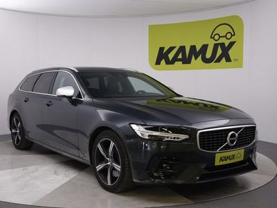 käytetty Volvo V90 D5 AWD R-Design aut / Adapt. vakkari / LED / NAVI