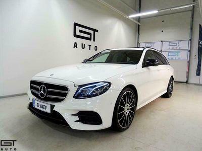 käytetty Mercedes E350 T AMG-Line, Night-paketti, LED-ILS, Webasto, Widescreen, Comand, 360-kamera, Kattol, MB Connect, Upea yksilö!