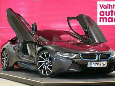 käytetty BMW i8 Coupé Pure Impulse First Edition *360 kamera* *Adapt. LED* *HUD* *Harman/Kardon* *Huippuvarusteet*