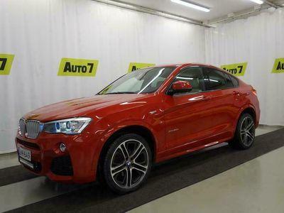 käytetty BMW X4 F26 xDrive30d TwinPower Turbo A Business M-Sport Webasto Navi Harman/Kardon Vetok Pysäköintikamera