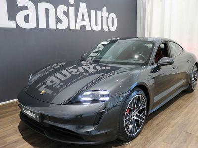 käytetty Porsche Taycan 4S 420kW/571hv - Varusteltu yksilö! mm. Lasikatto, Bose, Matkustan näyttö, Surround view-kamera, Sport-Chrono.