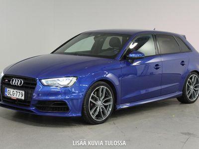 käytetty Audi S3 Sportback 2,0 TFSI 221 kW quattro S tronic - Huippu hieno, huikeat varusteet! Mukautuva vakionopeudensäädin, Remuc, B&O, LED-valot yms.