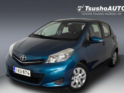 käytetty Toyota Yaris 1,33 Dual VVT-i Linea Sol 5ov ** 1-Omisteinen / Suomi-auto / Hieno Turkoosi met.väri **
