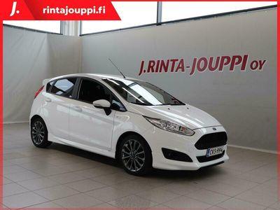 käytetty Ford Fiesta 1,0 EcoBoost 100hv PowerShift A6 ST-line 5-ovinen **** LänsiAuto Safe -sopimus hintaan 590EUR. ****
