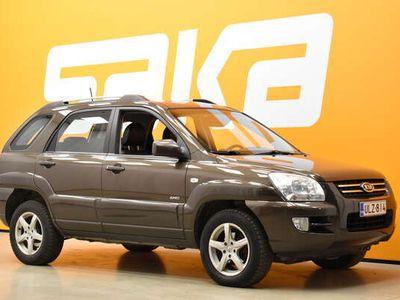 käytetty Kia Sportage 2,0 EX 4WD Cross ** Autom. ilmastointi / Vakkari / Luistonesto / Nelveto **