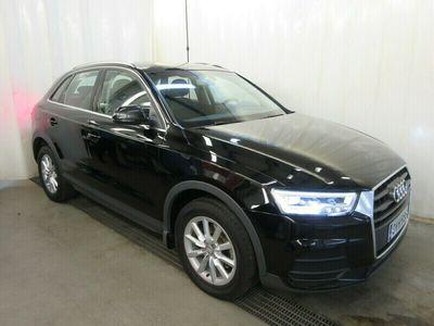 käytetty Audi Q3 Land of quattro Edition 2,0 TDI clean diesel 110 kW quattro S tronic, Suomiauto, Alcantara/Nahka, LED, Vetokoukku, Sähkötakaluukku...