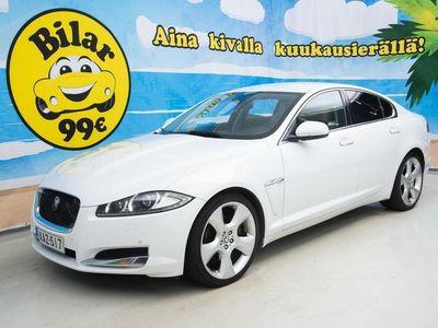 käytetty Jaguar XF 2,2 D *Suomi-auto / Nahka-alcantara / Sähköpenkit / Xenon* - *NYT ON OSTAJAN MARKKINAT!*