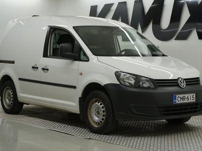 käytetty VW Caddy umpipakettiauto 1,6 TDI 55kW. BlueMotion Technology / ALV .VÄH / VETOKOUKKU / HUOLTOKIRJA /