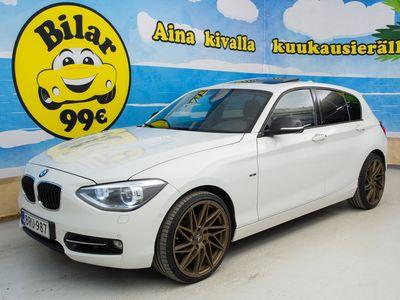 käytetty BMW 120 F21 TwinPower Turbo A Business Automatic Edition Sport - *VALTAISA VARASTONTYHJENNYSI!!!!*
