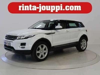 käytetty Land Rover Range Rover evoque 2,2 SD4 Pure Business Aut - Suomi-auto, Bi-Xenon, Webasto, Pysäköinti tutka, Peruutuskamera, Osamaksurahoituksen käsiraha alkaen 0 euroa